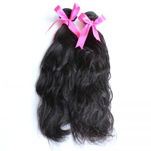 2 bundles natural wave virgin hair pic 01