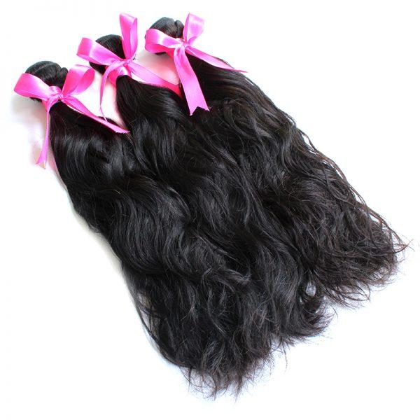 3 bundles natural wave virgin hair pic 01