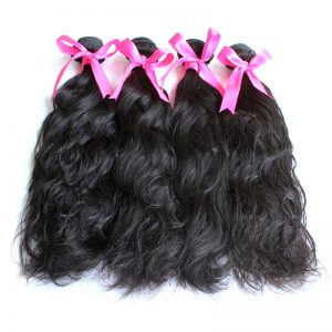 4 bundles natural wave virgin hair pic 01