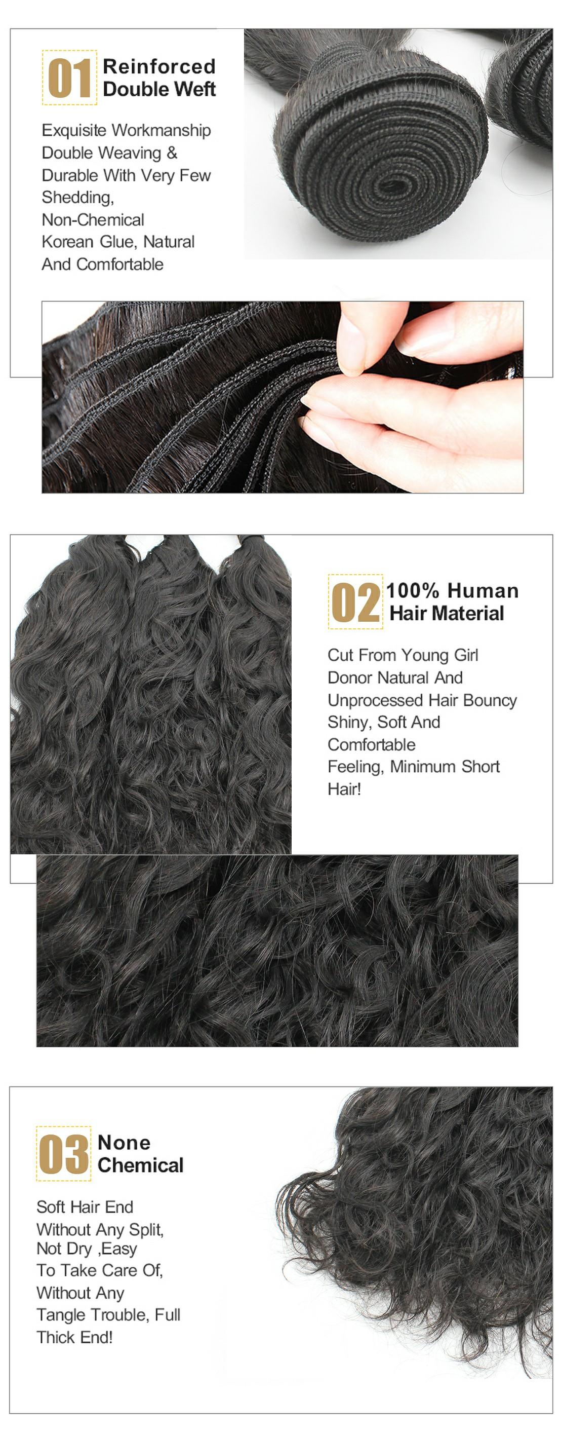 natural wave virgin hair product show