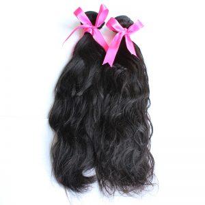 2 bundles natural wave virgin hair pic 01