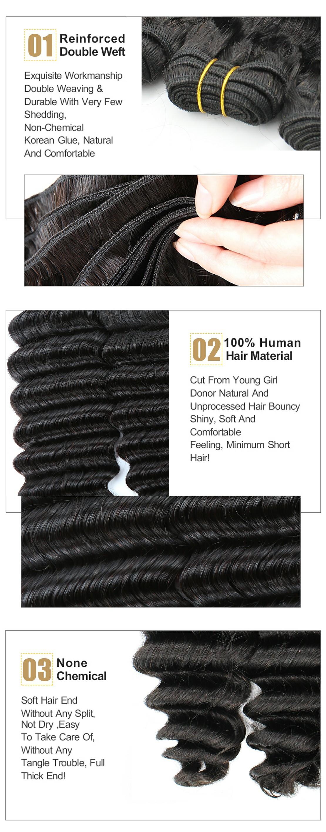 deep wave virgin hair product show